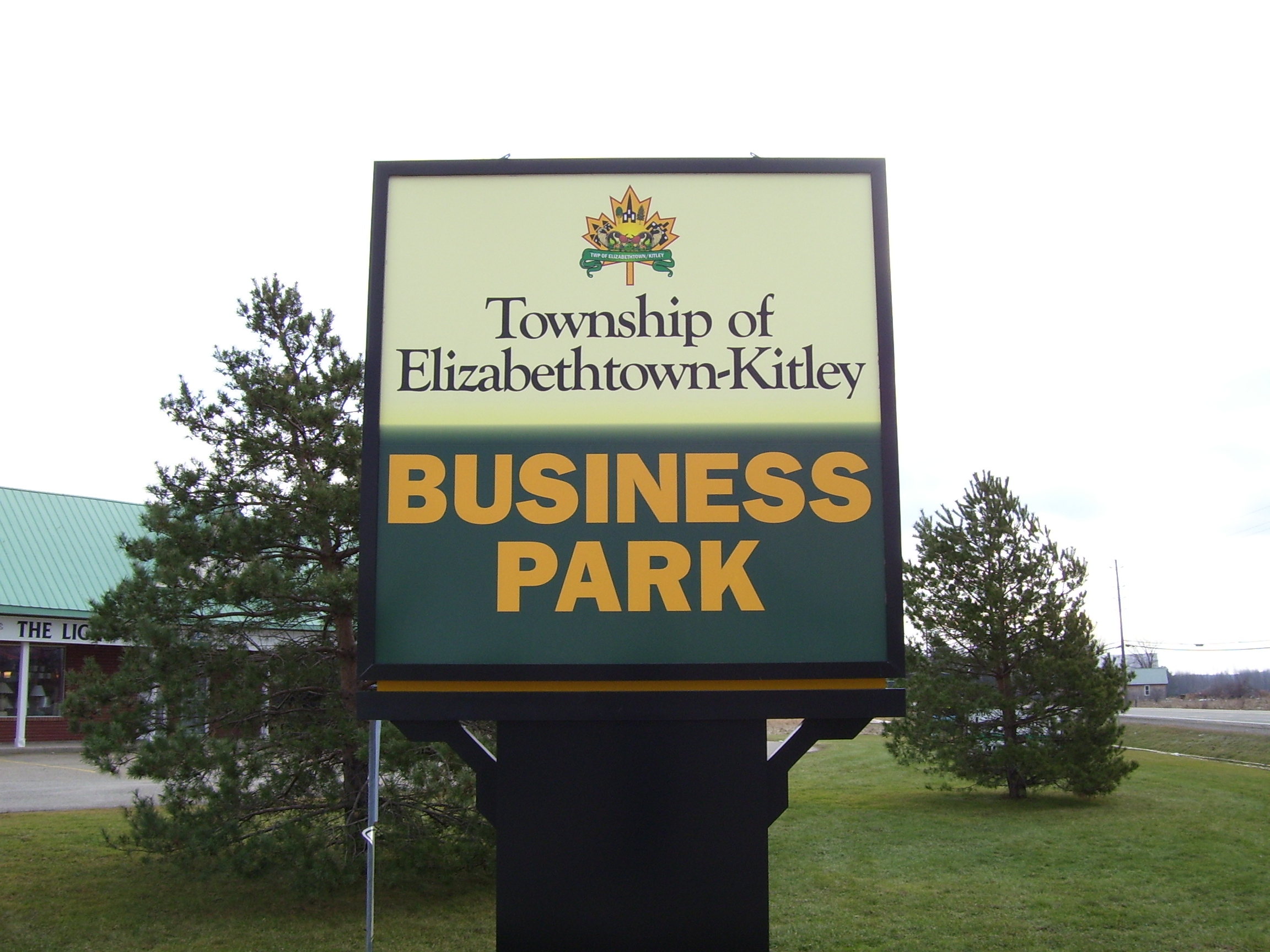 Picture of Elizabethtown-Kitley Business Park sign